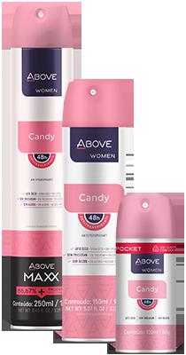 Antitranspirante Women Candy