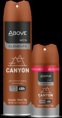 Antitranspirante Above Elements Canyon