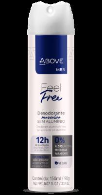 Desodorante Above Men Feel Free
