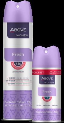 Antitranspirante Women Fresh