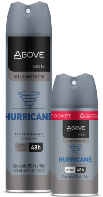 Antitranspirante Above Elements Hurricane