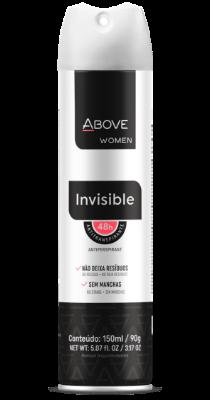 Antitranspirante Above Women Invisible