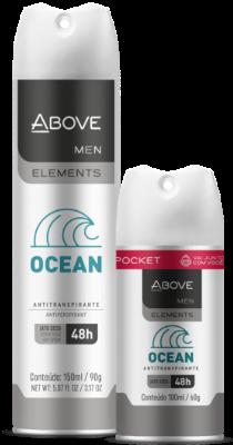 Antitranspirante Above Elements Ocean