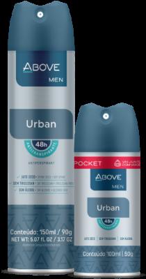 Antitranspirante Above Men Urban