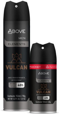 Antitranspirante Above Elements Vulcan