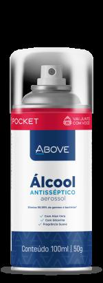 Álcool Antisséptico Aerossol