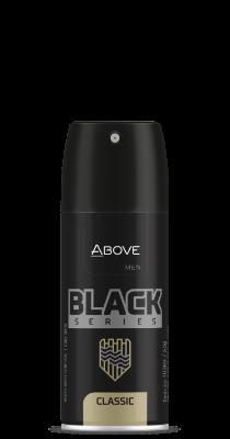 Antitranspirante Above Black Series Classic