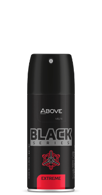 Antitranspirante Above Black Series Extreme