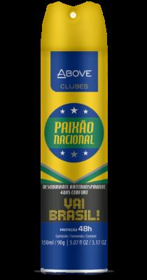 Antitranspirante Above Clubes – Brasil