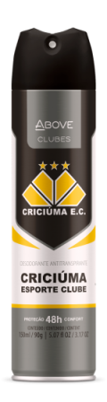 Antitranspirante Above Clubes – Criciúma