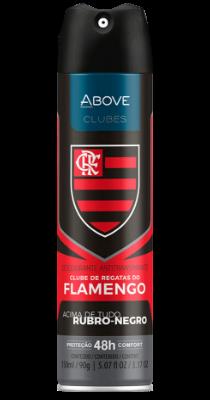 Antitranspirante Above Clubes – Flamengo