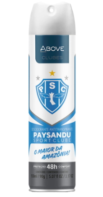 Antitranspirante Above Clubes – Paysandu
