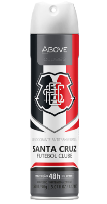 Antitranspirante Above Clubes – Santa Cruz