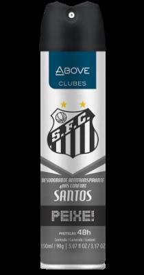 Antitranspirante Above Clubes – Santos