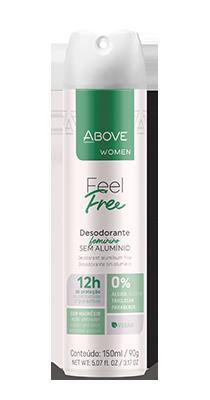 Desodorante Above Women Feel Free