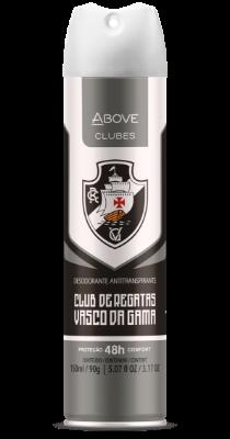 Antitranspirante Above Clubes – Vasco